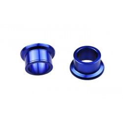 Entretoise de roue arrière SCAR bleu Yamaha YZ