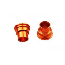 Entretoise de roue arrière SCAR orange rouge KTM