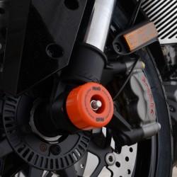 Protection de fourche R&G RACING orange KTM 1290 Super Duke/GT