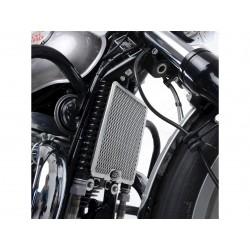Protection de radiateur d'huile R&G RACING noir Royal Enfield