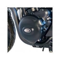 Couvre-carter gauche R&G RACING noir Kawasaki Z900RS