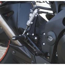 Commandes reculées R&G RACING noir Suzuki GSX-R1000