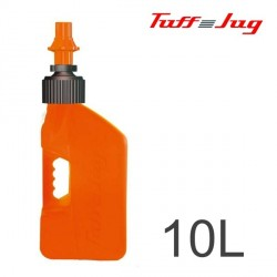Bidon TUFF JUG - Orange Transparent 10L