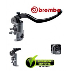 Master cylinder BREMBO - RADIAL PR19X18 LEVEL LONG FIX