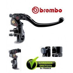 Master Cylinder REPLICA BREMBO RACING CNC PR19x18 Level Long pliable