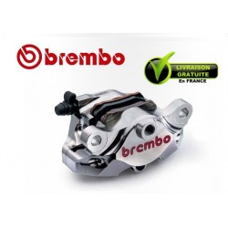 REAR BREMBO CALIPER CNC NICKEL ENTRAXE 84MM