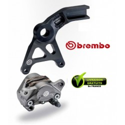 KIT BREMBO REAR CALIPER FORGED WITH CARRIER YZFR1000 R1 07-14