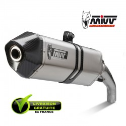 MIVV SPEED EDGE - INOX Casquette CARBONE