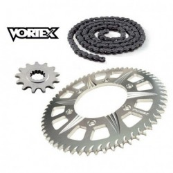 Kit Chaine STUNT - 13x65 - GSXR 600 01-10 SUZUKI Chaine Grise