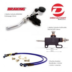 Pack Fullthrottle BRAKING ø13mm / DISCACCIATI Taillé masse ø14mm