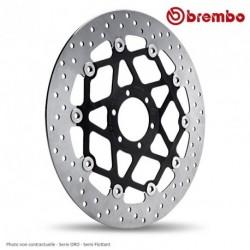 Disque avant BREMBO BIMOTA 1000 DB6 Delirio 6 (78B40870) serie ORO - Semi-Flottant