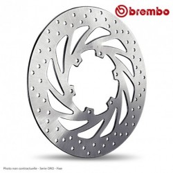 Disque arriere BREMBO HONDA CBR125R 03-09 ( 68B40740 ) Serie ORO - Fixe
