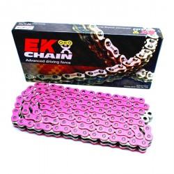 Chain EK - 520 - PINK - 120 Links - ULTRA RENFORCED
