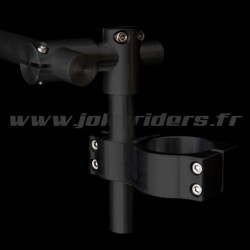 Clip-on 100% réglable JOKERIDERS - NOIR