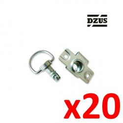 10x Screw DUZS Faster 6mm